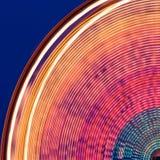 färgrikt ferrishjul för karneval Arkivbilder