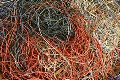 Färgrikt fisknät Fotografering för Bildbyråer