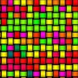 Färgrikt galet ljust - grön gul röd modern textur Arkivbilder