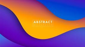 färgrikt geometriskt för abstrakt bakgrund Trendlutning Vätska formar sammansättning Vektor Eps10 stock illustrationer