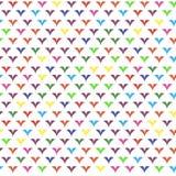 färgrikt geometriskt för bakgrund Arkivfoto