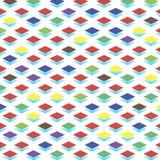 färgrikt geometriskt för bakgrund Fotografering för Bildbyråer