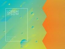 färgrikt geometriskt för bakgrund Abstrakt texturmall för royaltyfria bilder