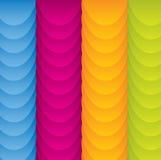 färgrikt gyckel för abstrakt bakgrund stock illustrationer