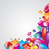 färgrikt hörn 6 Royaltyfri Fotografi