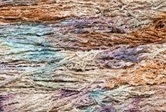 färgrikt handarbetegarn Royaltyfri Foto