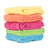 Färgrikt handdukutklipp Arkivfoton