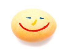 Färgrikt handgjort dekorerat easter ägg Arkivbilder