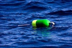 färgrikt hummervatten för boj Arkivfoton