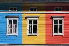 färgrikt hus Royaltyfri Fotografi