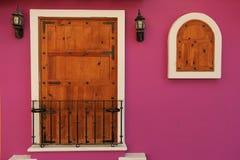 Färgrikt hus royaltyfri foto