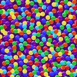 färgrikt läckert seamless för bakgrundsgodisar Arkivfoton