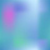 Färgrikt lutningingrepp med mörk rosa färger, blått och gräsplan Ljus kulör fyrkantig bakgrund Fotografering för Bildbyråer