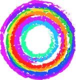 Färgrikt mål Arkivfoto