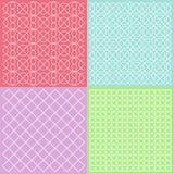 Färgrikt mönstrar Arkivfoton
