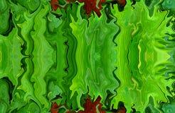Färgrikt marmorfärgpulver Flerfärgad marmormodell av blandningen av kurvor Royaltyfri Bild