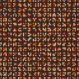 Färgrikt Melangeullstickmönster close upp Seamless bakgrund vektor illustrationer