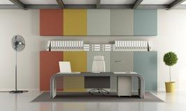 färgrikt modernt kontor Royaltyfria Foton