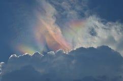 Färgrikt moln Arkivfoto