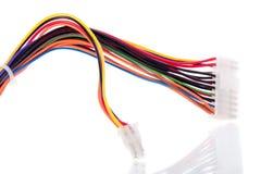 färgrikt nätverk för kabel fotografering för bildbyråer
