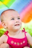 färgrikt nederlagparaply under Royaltyfri Fotografi