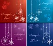 färgrikt nytt år för bakgrunder Royaltyfria Foton