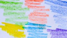 Färgrikt på bakgrund Arkivbild
