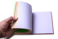 färgrikt papper Arkivbilder