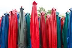 färgrikt paraply Royaltyfri Foto
