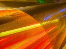 Färgrikt perforerat vridet raster för metallark Fotografering för Bildbyråer