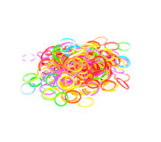 Färgrikt plast- musikband Royaltyfri Fotografi