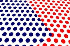 Färgrikt prickhantverkpapper Arkivfoto