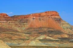 Färgrikt rökigt berg, Utah Fotografering för Bildbyråer