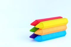 Färgrikt radergummi Fotografering för Bildbyråer