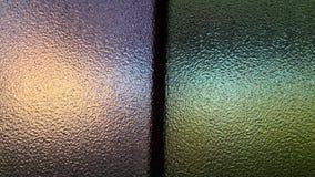 Färgrikt reflektera spegeln Arkivbild