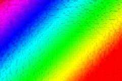 Färgrikt regnbågeabstrakt begrepp 3d Arkivfoton