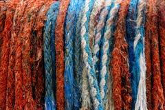 färgrikt rep Arkivfoto