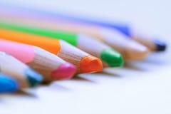 Färgrikt ritar i en ro Närbild fotografering för bildbyråer