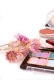 färgrikt smink Royaltyfria Bilder