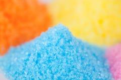 färgrikt socker arkivfoto