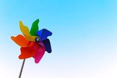färgrikt stifthjul Royaltyfri Fotografi