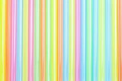 färgrikt sugrör för bakgrund Royaltyfri Bild