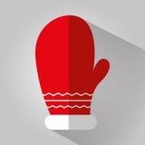Färgrikt symbolsdiagram för glad jul Arkivbild