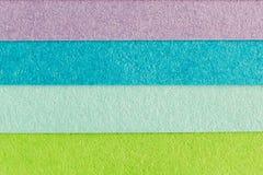 Färgrikt texturerat papper för bakgrund Royaltyfria Bilder
