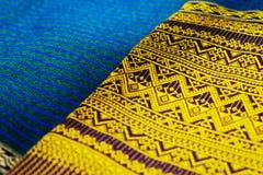 Färgrikt thai silke handcraft peruansk stil Royaltyfria Bilder