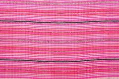 Färgrikt thai silke handcraft peruanskt slut för stilfiltyttersida upp mer detta motiv & mer backgro för peruanskt band för texti Arkivfoto