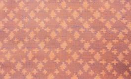 Färgrikt thailändskt silke Arkivfoto