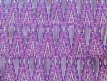 Färgrikt thailändskt silke Royaltyfri Bild