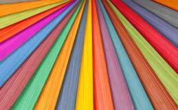 färgrikt trä för bakgrund Royaltyfri Foto
