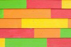 Färgrikt trä texturerar fotografering för bildbyråer